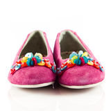 Girl shoes Royalty Free Stock Photos