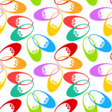 Girl Shoes Seamless Pattern Royalty Free Stock Photo