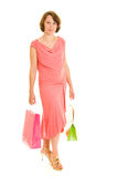 Girl with shopping Stock Image