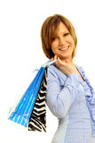 Girl Shopping Royalty Free Stock Photo