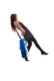 Girl and Shopping Bags. Stock Image