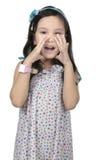 Girl Shout Royalty Free Stock Photo
