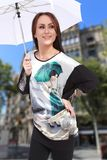 Girl Show 2014 fashion Royalty Free Stock Photos