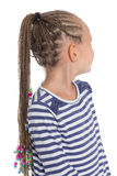 Girl showing her dreadlocks Stock Photos
