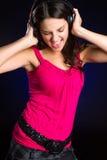 Girl Singing Music Stock Image