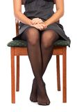 Girl sitting Royalty Free Stock Photo