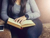 Girl sitting Stock Image