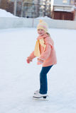 Girl skates Royalty Free Stock Photos