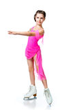 Girl on skates Royalty Free Stock Photos