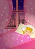 Girl sleep Stock Images