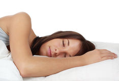 Girl sleeping Royalty Free Stock Image