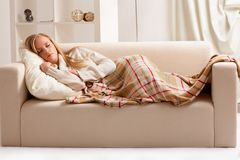 Girl sleeping Royalty Free Stock Photo