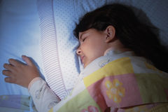Girl sleeping Royalty Free Stock Photos