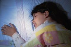 Girl sleeping Royalty Free Stock Photos