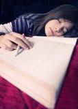 Girl sleeping Stock Photography