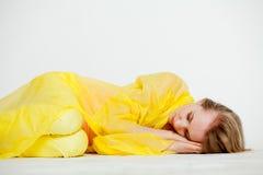 Girl sleeping Royalty Free Stock Images