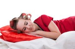 Girl sleeps Royalty Free Stock Photo