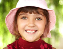 Girl smile royalty free stock images