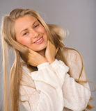 Girl with a smile Royalty Free Stock Images