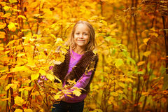 Girl smiles and happy Royalty Free Stock Images