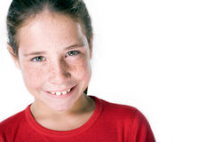Girl smiling Royalty Free Stock Photography