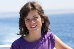 Girl smiling Royalty Free Stock Photos