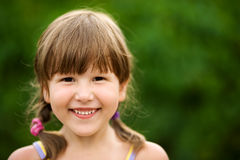 Girl smiling Stock Image