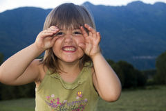 Girl smiling Royalty Free Stock Photos