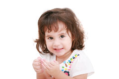 Girl smiling Stock Photography