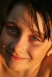 Girl smiling Stock Photo