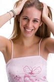 Girl smiling 4 Royalty Free Stock Images