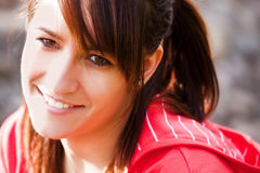 girl smiling Στοκ Εικόνες
