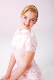 girl smiling young Στοκ Φωτογραφίες