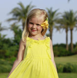 Girl smilling Royalty Free Stock Photo