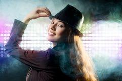 girl smoke Στοκ φωτογραφία με δικαίωμα ελεύθερης χρήσης