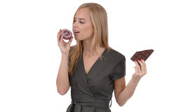 Girl with soap Stock Photos