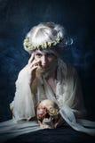 The girl in sorrow Stock Photo