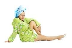 girl spa στοκ εικόνες