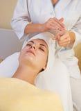 Girl in spa salon Stock Photo