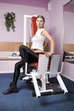 Girl in sport Stock Photo