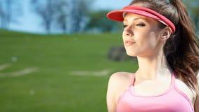 Girl in sport Royalty Free Stock Photo
