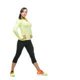 Girl in sportwear Royalty Free Stock Photos