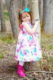 Girl in spring Royalty Free Stock Image
