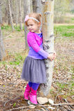 Girl in spring Royalty Free Stock Images