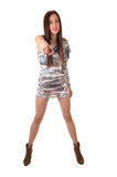 Girl standing. Royalty Free Stock Photography