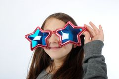 Girl-star Royalty Free Stock Photography