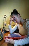Girl student - 1 Stock Image
