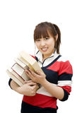 Girl student Stock Photo
