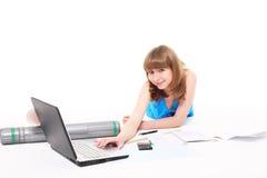 Girl-student Stock Image