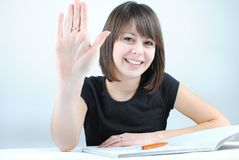 Girl student Royalty Free Stock Photography